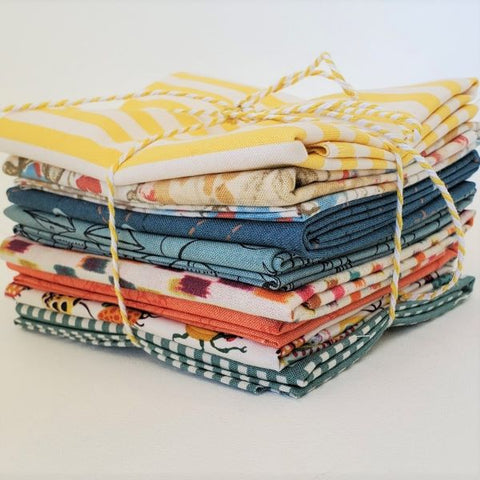 Staff Picks Bundle - 8 Fat Quarters - Cottage Afternoon