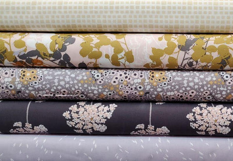 Art Gallery Fabrics - Earthen by Katarina Roccella - Flora Fields Anemone