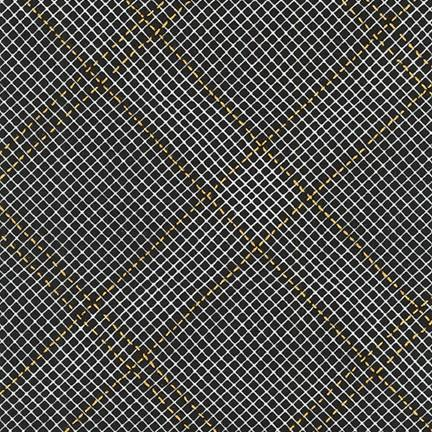 Carolyn Friedlander - Collection CF - Grid with Single Border in Black