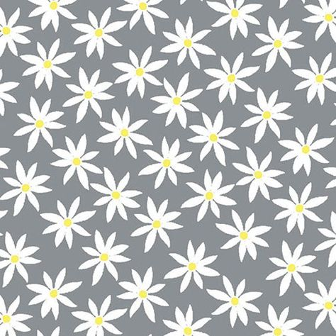 Lemon Twist By Kanvas Studio - Daisy in Grey/Yellow