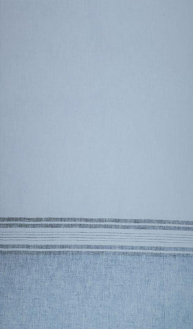 Belize Linen Single Border Weave - Mist
