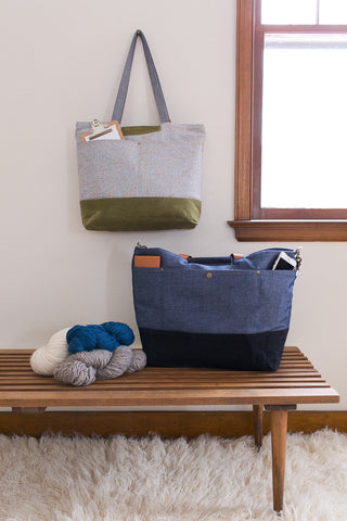 Pattern - Anna Graham Explorer Tote