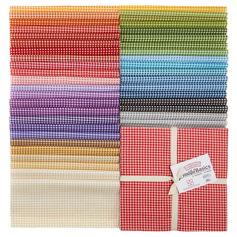 "Maywood Classic Check - 10"" square Charm Pack 42 pieces (layer cake)"