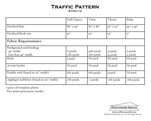 Esch House Quilts - Traffic Pattern