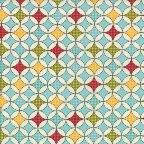 Sweetwater Novelty Wrapping Paper Aqua