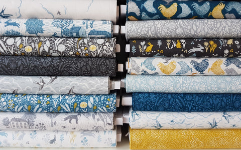 Designer Bundle -  Makower Grove  - 16 fat quarters