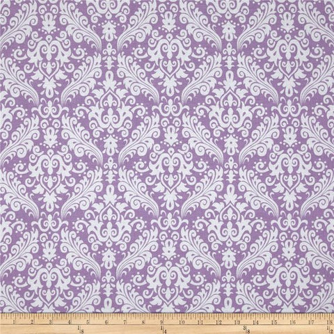 Special Buy - Riley Blake Medium Damask in Lavender