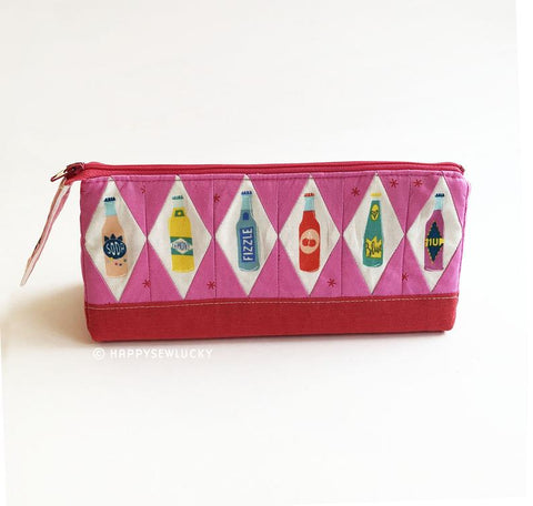 Happy Sew Lucky - Prism Zippy Pouch Pattern