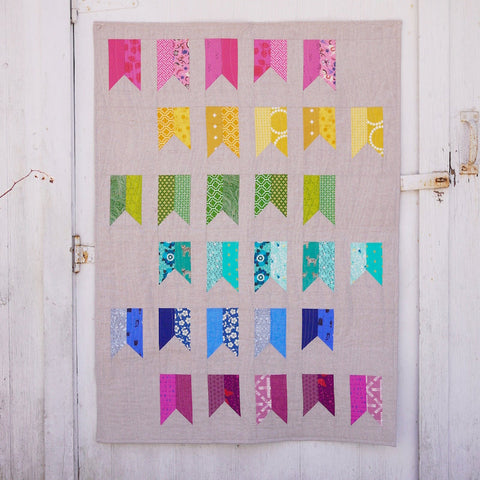 Banner year Quilt Pattern by 3rd Story