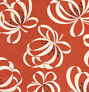 Denyse Schmidt - Katie Jump Rope - Ribbon Floral Orange