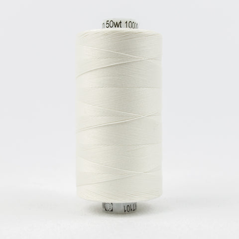 Wonderfil 50 wt 100% Cotton Thread in Soft White - 101