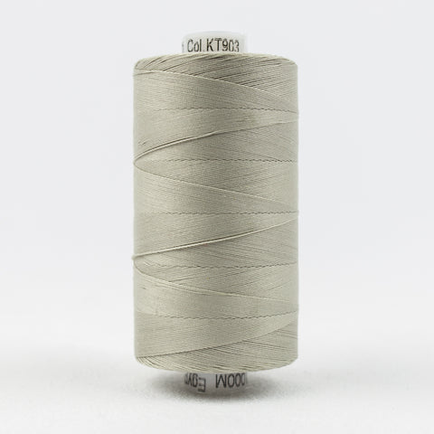 Wonderfil 50 wt 100% Cotton Thread in Very Light Grey - 903