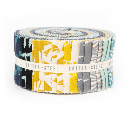Design Roll - By the Seaside by Loes Van Ooosten (jelly roll)