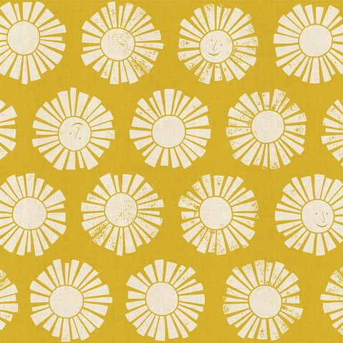 Loes van Ooosten for Cotton + Steel - By the Seaside - Sunshine in Golden
