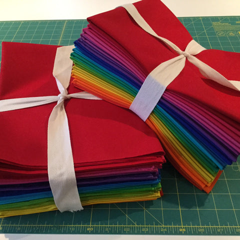 Mega-Bundle Instant Rainbow Solid Stash  Full Yard bundle - 16 yards