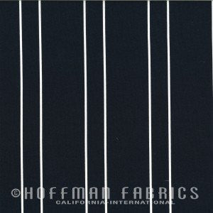 Simply Eclectic Staggered Indigo Stripe