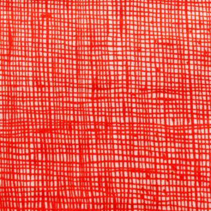 Heath Fabric Natural Red