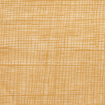 Alexander Henry Heath Fabric Tea/Ochre