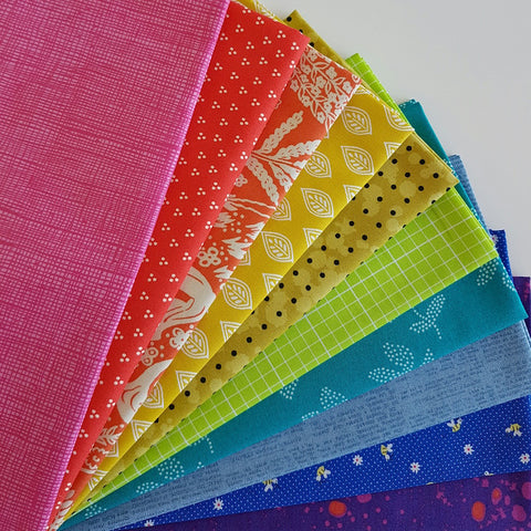 Fat Quarter Bundle - February 2017 Rainbow Bundle