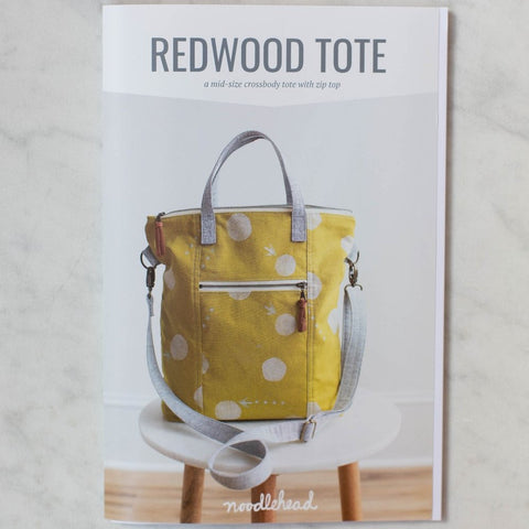 Noodlehead Pattern by Anna Graham - Redwood Tote
