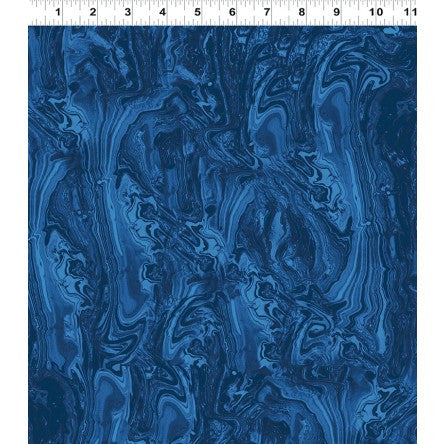 Rhapsody by Sue Zipkin Navy Marble Tonal