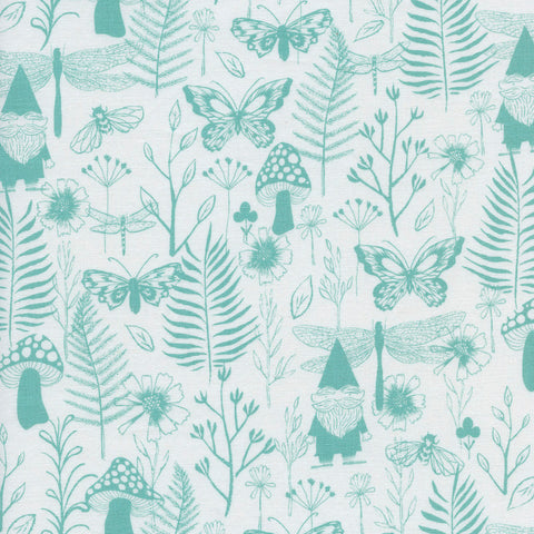 Front Yard by Sarah Watts - Garden in Teal