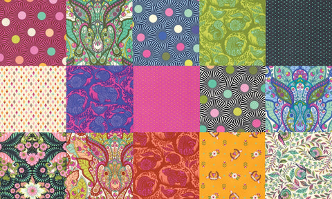 Tula Pink Slow and Steady Fat quarter bundle