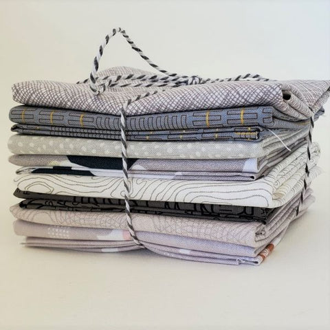 Staff Picks Bundle - 8 Fat Quarters - Smoke and Ash