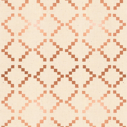 Golden Hour by Alexia Marcelle Abegg of Ruby Star Society - Tile in Copper Metallic