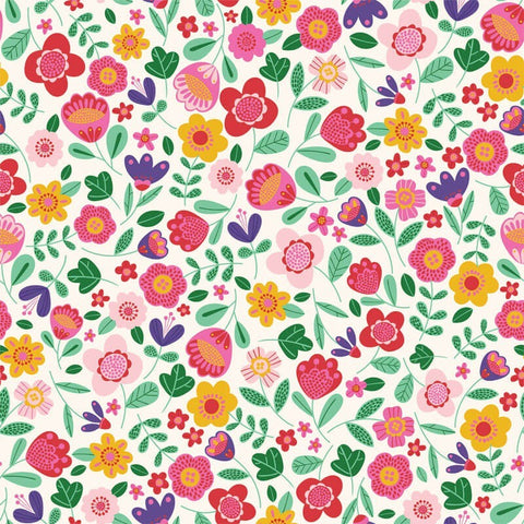 Katia Cotton Poplin - Frida Floral