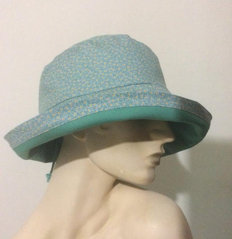 Adjustable Sun hat or Rain hat Workshop -Saturday January 26 10:00 - 4:00