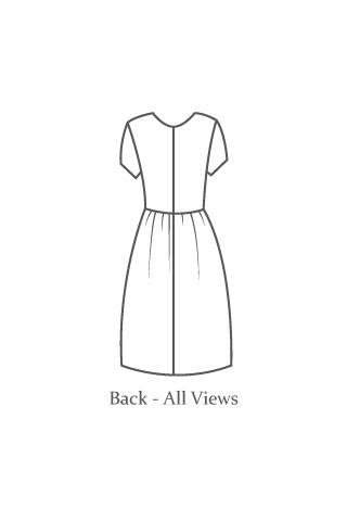 The Avid Seamstress - Day Dress