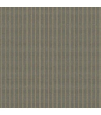 Downstairs at Manor House Woven Yarn Dyed Triple Stripe Grey - 9.95 / yard