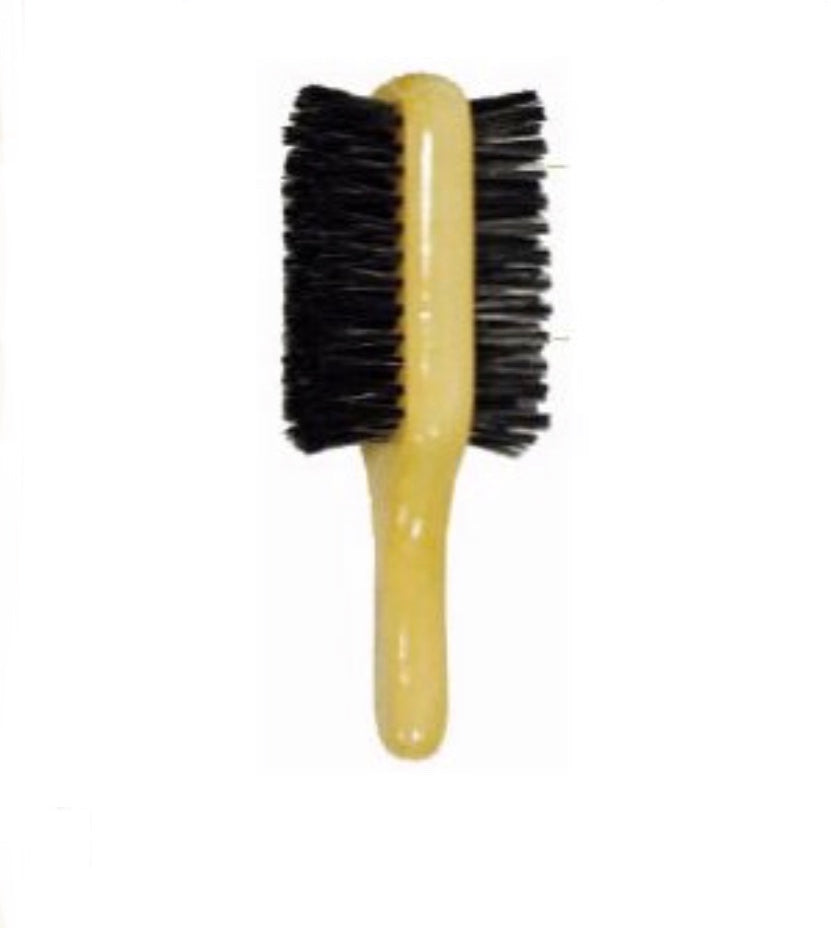 Men 2 Sided Hair Brush Hard & Soft
