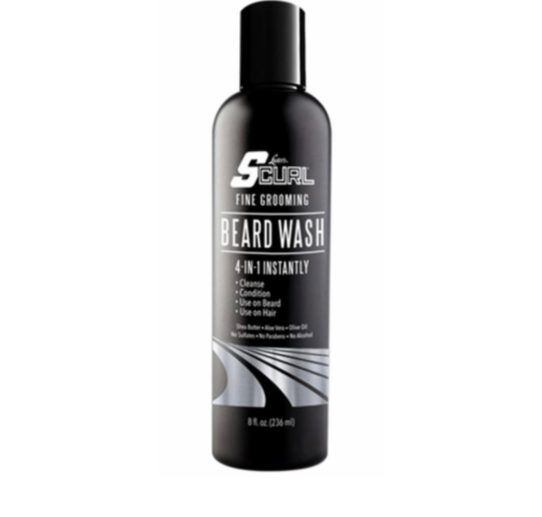 S-Curl Beard Wash