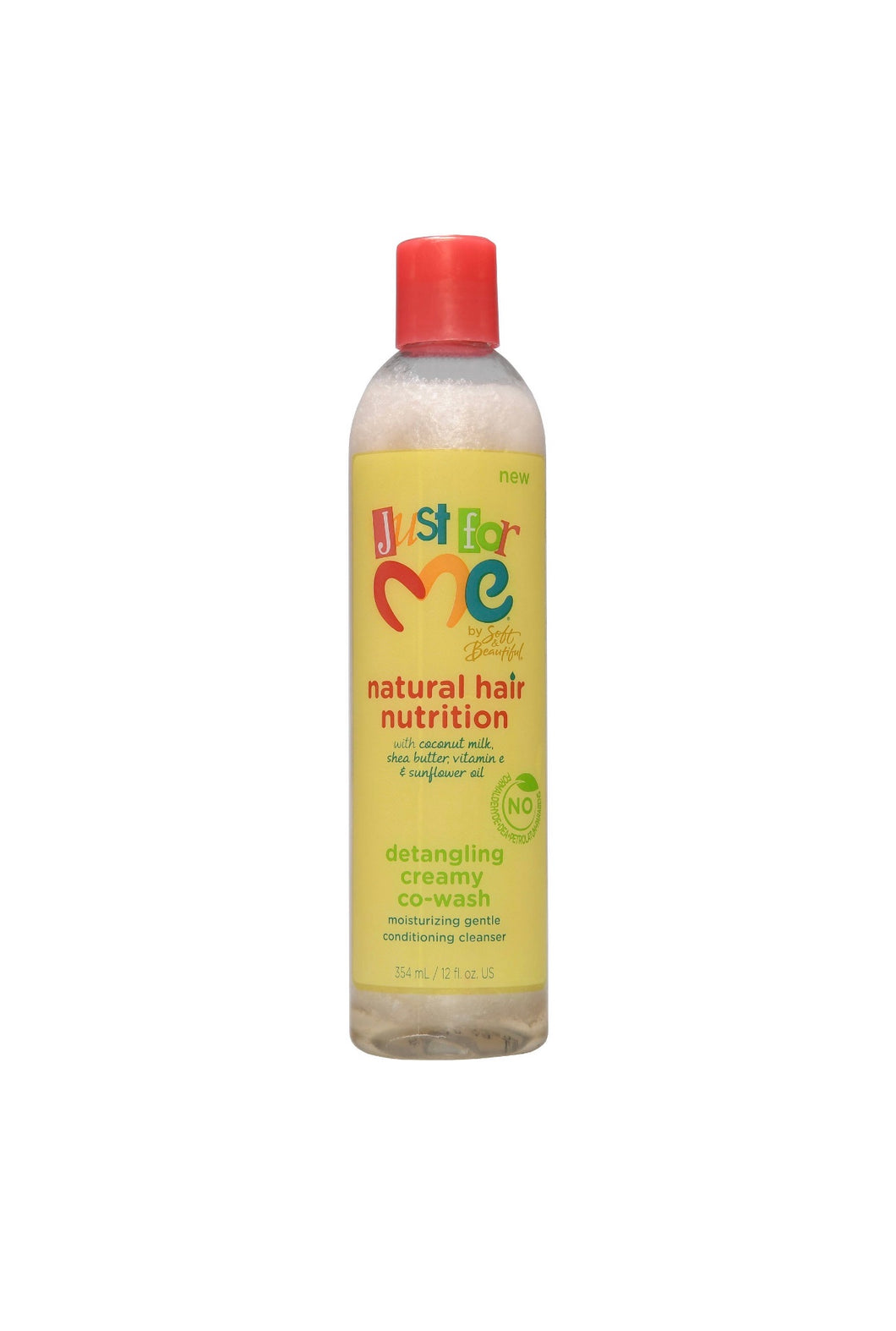Just For Me Natural Hair Nutrition Detangling Creamy Co-Wash