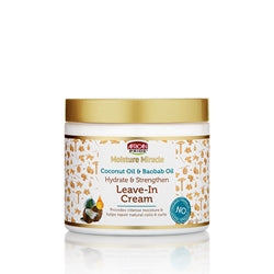 Moisture Miracle Coconut Oil & Baobob Leave-in Cream