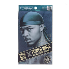 Load image into Gallery viewer, Red By Kiss Bow Wow X Power Wave Velvet Luxe Durag