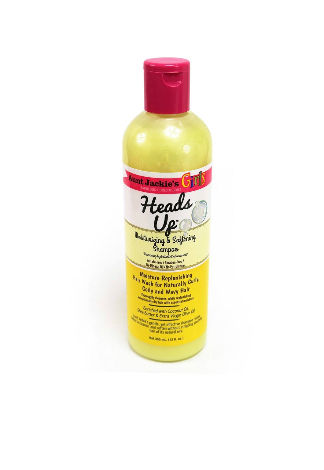 Aunt Jackie's Girls Heads Up Moisturizing Shampoo