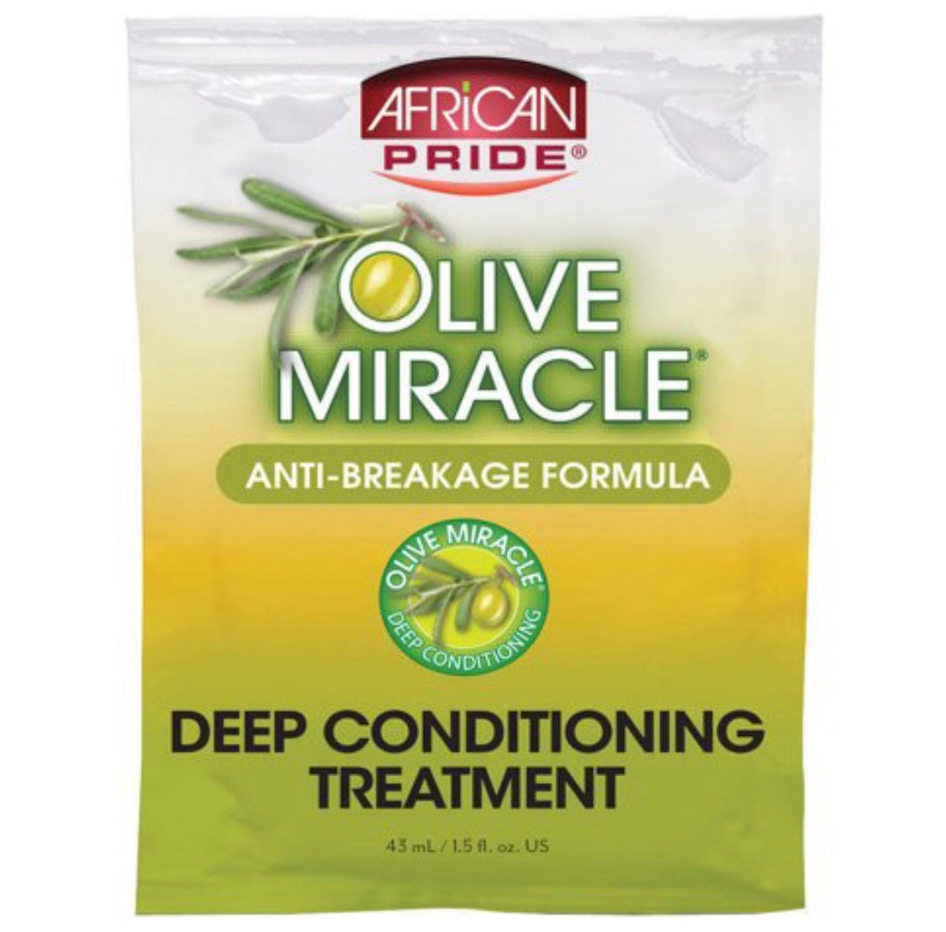 AFRICAN PRIDE OLIVE MIRACLE CONDITIONER PACKET