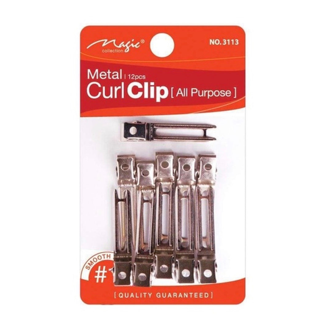 Magic Collection Curl Clips 12 pcs