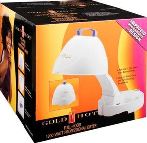 GOLD N HOT 1200 Watt Bonnet Salon Dryer-GH9271