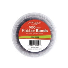 Load image into Gallery viewer, MAGIC Rubber Band Black with Jar