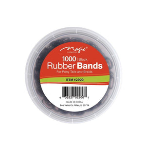 MAGIC Rubber Band Black with Jar