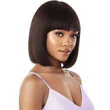 Load image into Gallery viewer, OUTRE WET AND WAVY MYTRESSES PURPLE LABEL UNPROCESSED HUMAN HAIR WIG DEEP BOB