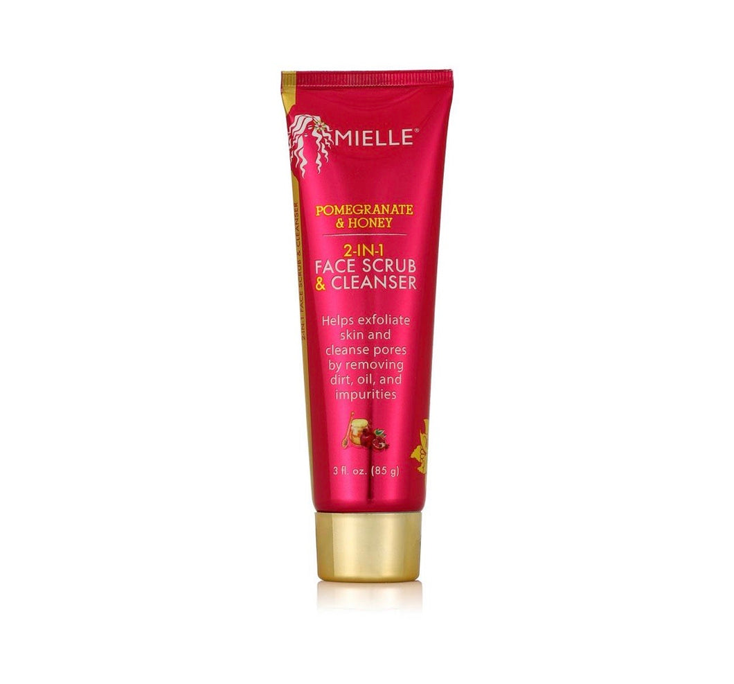 Mielle Pomegranate & Honey 2-in-1 Face Scrub & Cleanser