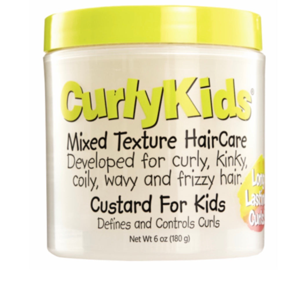 Curly Kids Mixed Hair Haircare Custard