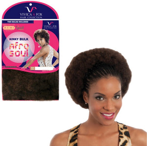Vivica A Fox Hair Collection Afro Kinky Bulk 16""