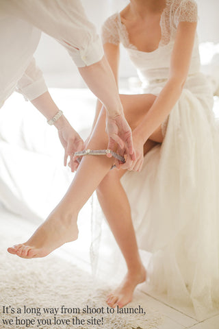 We hope you love our bridal wedding garters!