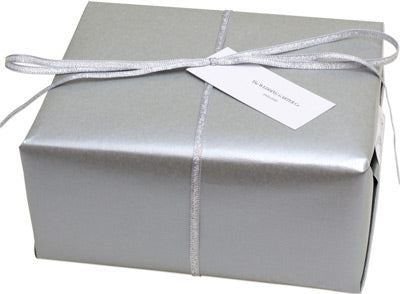 Gift wrapped wedding accessories